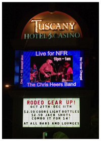 Chris Heers billboard tuscany las vegas